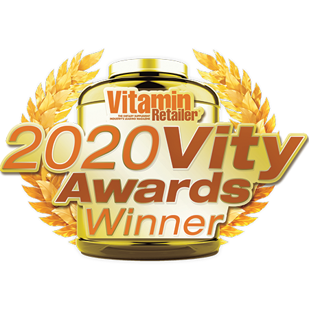 2020 Vity Awards Winner • Vitamin Retailer
