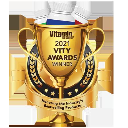 2021 Vity Awards Winner • Vitamin Retailer