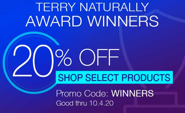 Award Winners • 20% OFF SHOP SELECT PRODUCTS