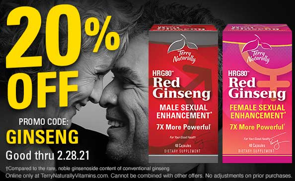 20% Off promo code: Ginseng