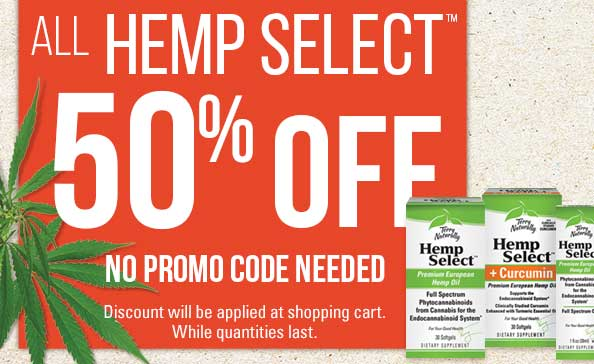 All Hemp Select™ 50% Off • No Promo Coded Needed
