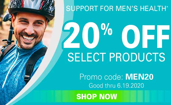 20% off Select Products  •  Promo code: MEN20