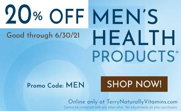 Men's Health Sale | Good through 6.30.21