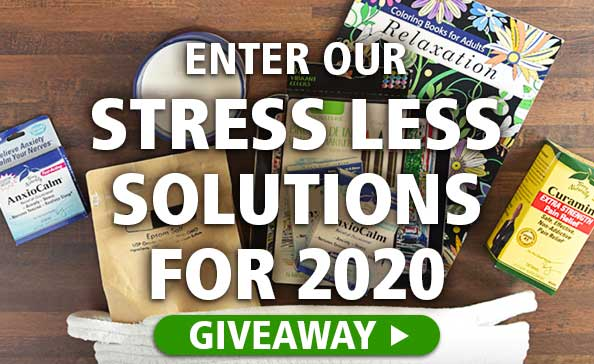 Enter Our STRESS LESS SOLUTIONS FOR 2020 Giveaway!