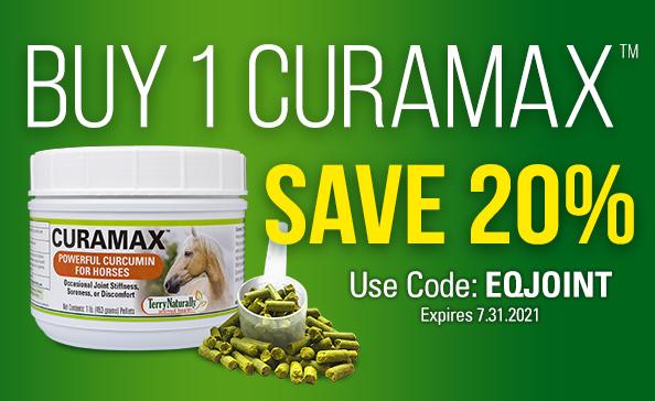 Buy 1 CuraMax™ Save 20% • Promo Code: EQJOINT