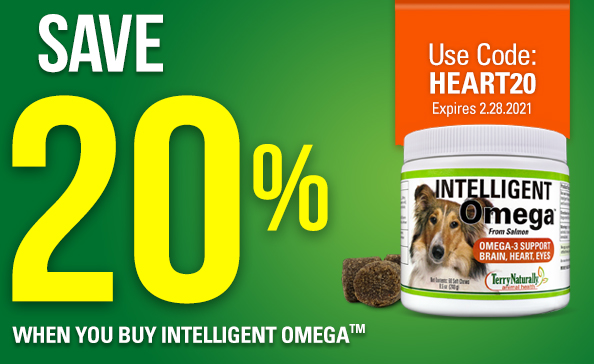 Save 20% When you buy intelligent omega. Use code: HEART20