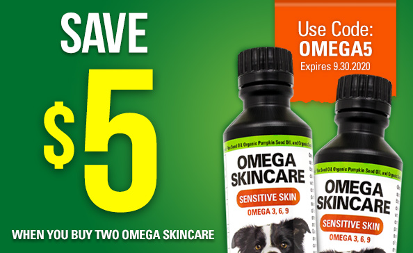 SAVE $5 WHEN YOU BUY 2 OMEGA SKINCARE
