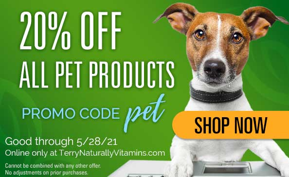 Pet Health Sale | Good through 5.28.21