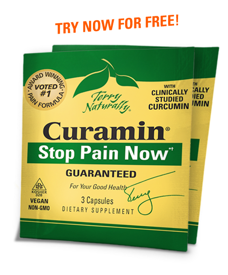 Stop Pain Now with Curamin